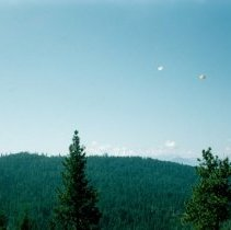 Image of Two Smokejumpers Desending - 2005.051.039
