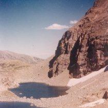 Image of Lakes Adjacent to St. Vrain Glacier