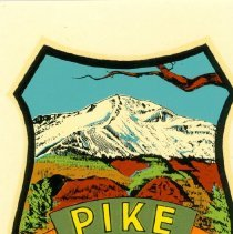 Image of Pike National Forest - Decal