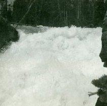 Image of Upper Dinwoody Falls Washaki NF 7/28/1938 - 1990.001.053.255