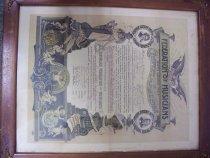 Image of PR0013 - Certificate, Commemorative