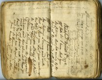 Image of Gordon diary - 1774-1796