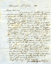 Image of Letter - 2011.036.017