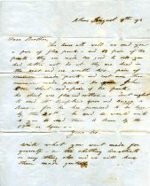 Image of Letter - 2011.036.021