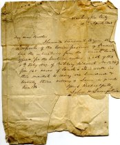 Image of Letter - 2011.036.045