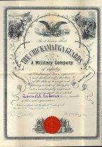 Image of Certificate, Membership - 1984.001.068