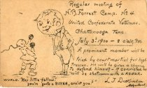 Image of Announcement, Meeting - 1987.058.035