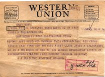Image of Telegram - 1983.005.363