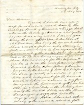 Image of Letter - 2011.036.016