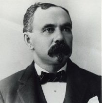 Image of Marcus M. Towle, co-founder of Hammond Indiana (restored)
