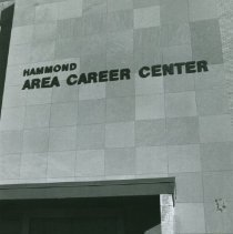 Image of Hammond Area Career Center front entrance (restored)