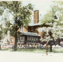Image of W.B. Conkey home, bought by Beth-El Temple (original)