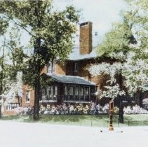 Image of W.B. Conkey home, bought by Beth-El Temple (restored)