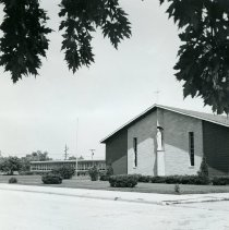 Image of St. Catherine of Siena church & school - dPhotograph Collection