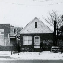 Image of Little Red Schoolhouse pre-renovation - Photograph Collection