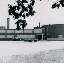 Image of Front exterior of Caldwell School - Photograph Collection