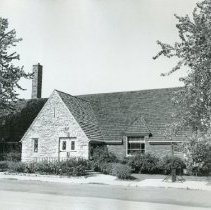Image of Front of Hansen Branch - Photograph Collection