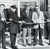 Image of Ribordy's ribbon cutting ceremony on 169th & McCook - Photograph Collection