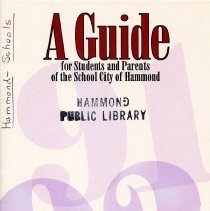 Image of School City of Hammond guide for students and parents (n.d.)