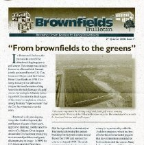 Image of 2000 Brownfields Bulletin newsletter