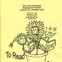 Image of 1996 Calumet Area Literacy Council Celebration Banquet program