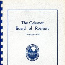 Image of Calumet Board of Realtors - Paper Artifacts Collection