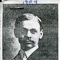 Image of 1904 newspaper clipping of Dr. S.A. Bell, Secretary of Education Board