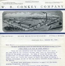 Image of W.B. Conkey Company - Paper Artifacts Collection