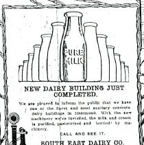 Image of Borden's Dairy Company - Paper Artifacts Collection
