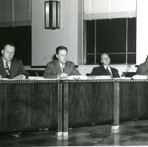 Image of Mid-20th century Hammond City Council members