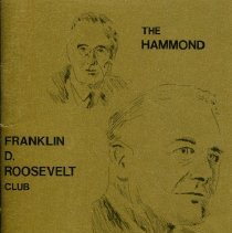 Image of Franklin D. Roosevelt Club - Paper Artifacts Collection