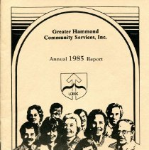 Image of Greater Hammond Community Services - Paper Artifacts Collection