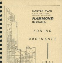 Image of Hammond 1951 Zoning Ordinance