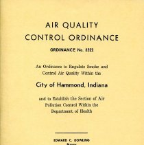 Image of Air Quality Control Ordinance booklet