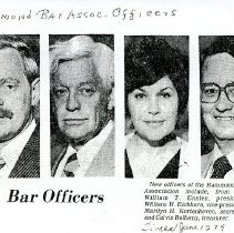 Image of Hammond Bar Association - Paper Artifacts Collection