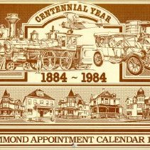 Image of Hammond Centennial Commisison - Paper Artifacts Collection
