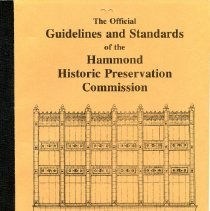 Image of 1980s Guidelines & Standards booklet