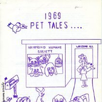 Image of Hammond Humane Society - Paper Artifacts Collection