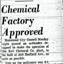 Image of Keil Chemical Company - Paper Artifacts Collection