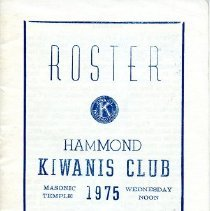 Image of Kiwanis Club - Paper Artifacts Collection