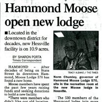 Image of Moose Lodge - Paper Artifacts Collection