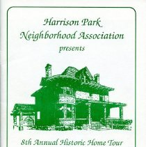 Image of Harrison Park Neighborhood  Assoc. 8th Annual Home Tour program