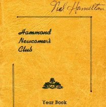Image of Newcomer's Club - Paper Artifacts Collection