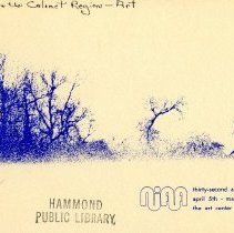 Image of Northern Indiana Art Association, Inc. - Paper Artifacts Collection