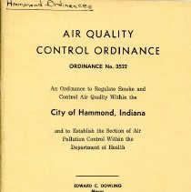 Image of Ordinances - Paper Artifacts Collection