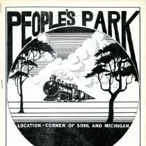 Image of 1983-1984 People's Park donation booklet