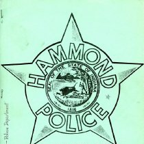 Image of Hammond Police Department recruitment manual (n.d.)