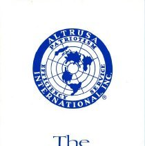 Image of The Altrusa Tradition Pamphlet