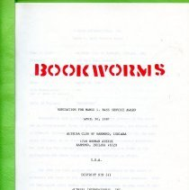Image of Bookworms Report