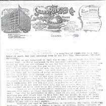 Image of Sears, Roebuck & Company - Paper Artifacts Collection